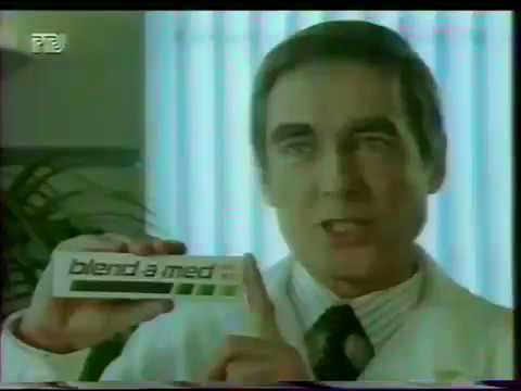 Реклама Blend-a-med 1995