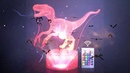 3D Dinosaur Night Lights Winged Dragon 16 color LED NightLight Animal Pterosaur Remote Table Lamp