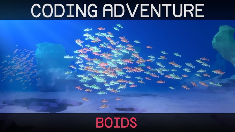 Coding Adventure Boids