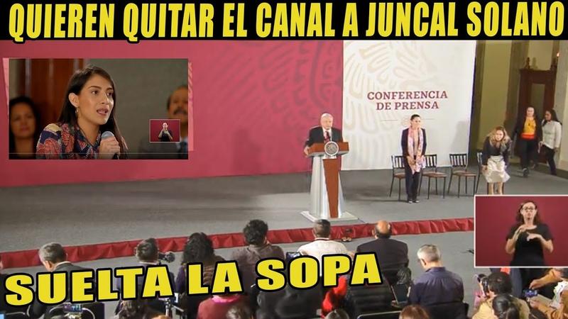 JUNCAL SOLANO SOLTÓ LA SOPA QUIEREN QUITARLE EL CANAL Y HABLÓ SOBRE EL CASO DE CHUMEL TORRES