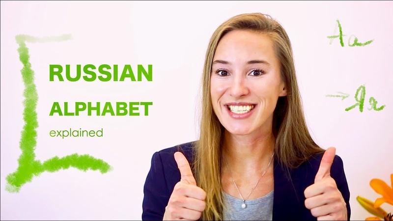 Learn Russian Alphabet Russian ABC Cyrillic Pronounce Russian Letters Russian Comprehensive