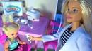МУЛЬТИК БАРБИ КУКЛЫ ПРИВИВКА В ШКОЛЕ! Сборник смешных серий мультики с куклами. Видео для детей