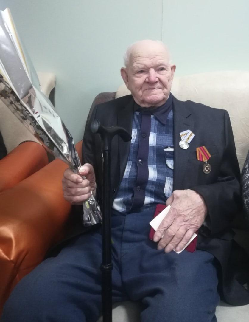 Торжественное вручение юбилейных медалей «75-летие Победы в Великой Отечественной войне»