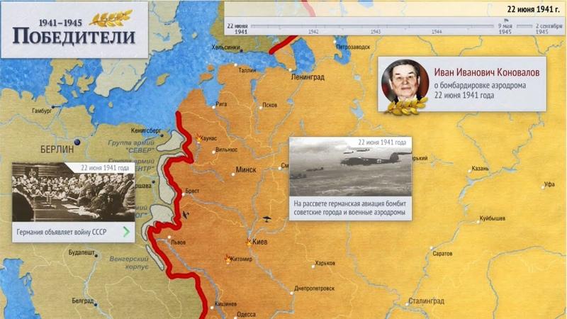 Хронология Великой Отечественной войны 1941 1945 гг Вторая Мировая война