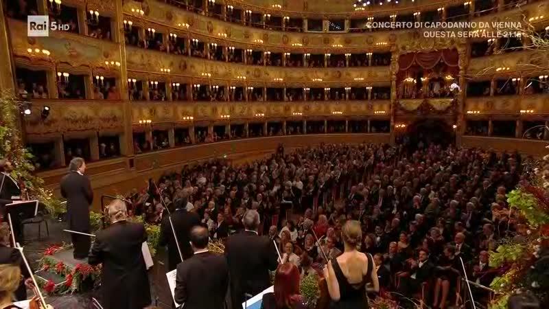 Concerto di Capodanno La Fenice 2020 Венеция 01 01 2020