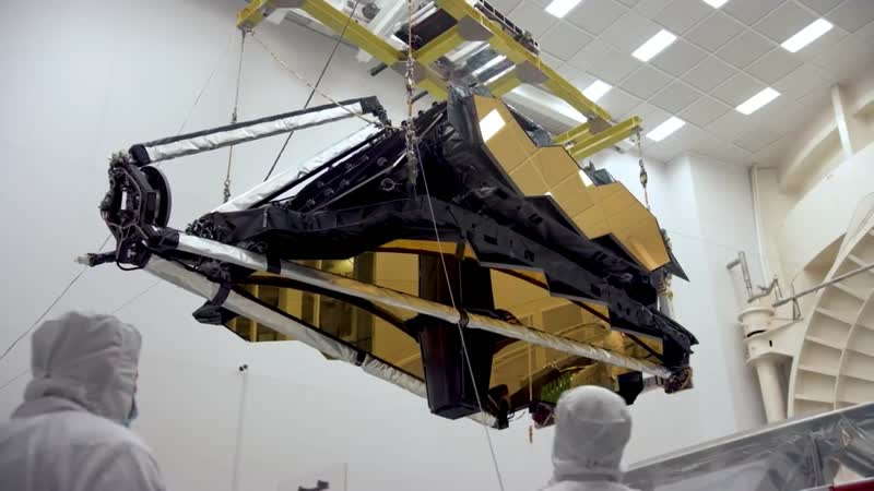 NASA's James Webb Space Telescope Arrives at Northrop Grumman Aerospace Systems in California [TnzrXNLCPqU]