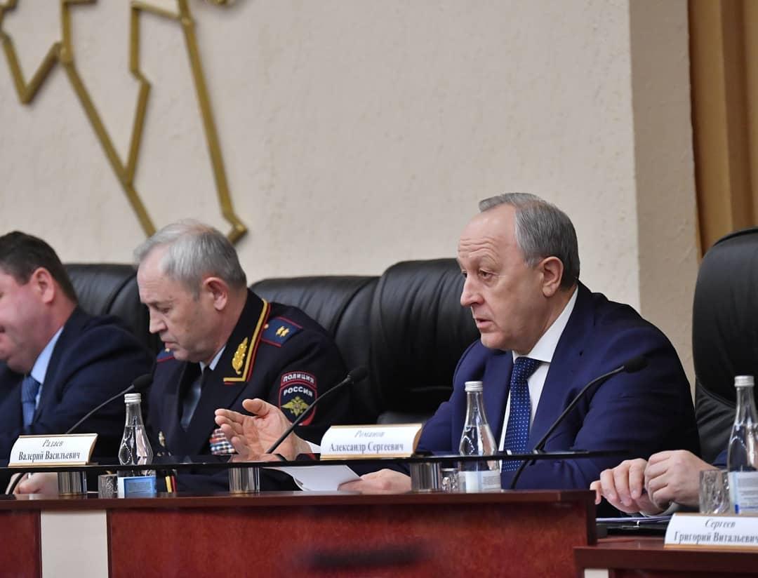 Губернатор Валерий Радаев принял решение о введении в регионе режима повышенной готовности