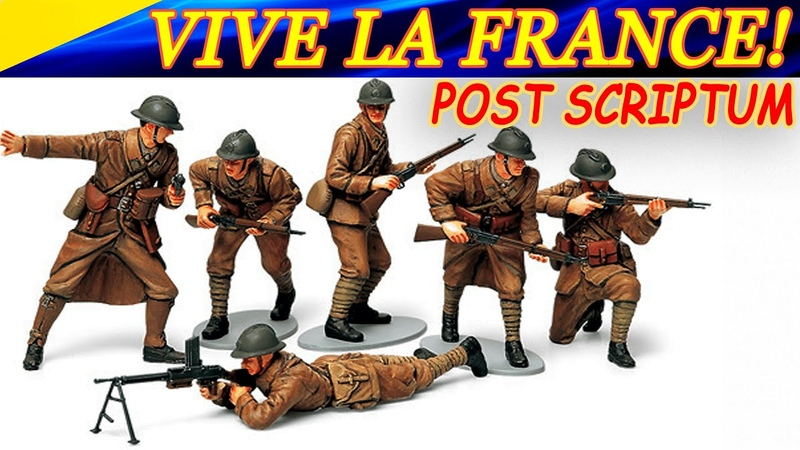 Vive la France Да здравствует Франция Post Scriptum French infantryman gameplay