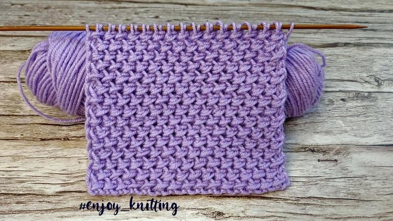 КРАСИВЫЙ Плотный Узор Спицами для пальто Stitch knit pattern for coat jumper cardigan