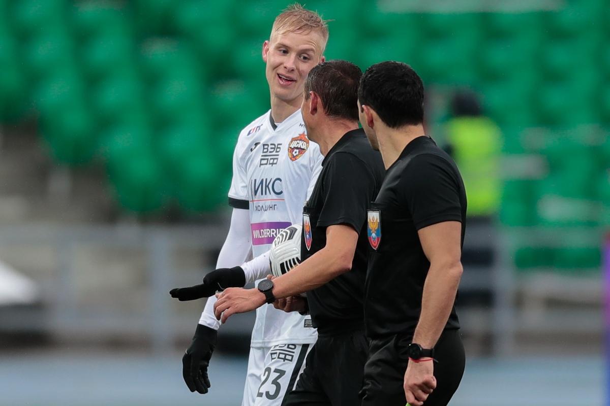 Уфа - ЦСКА, 0:1. Хёрдур Магнуссон