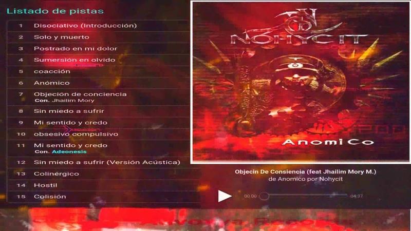 Nohycit - Objeción de consciencia (Feat Jailim Mory)
