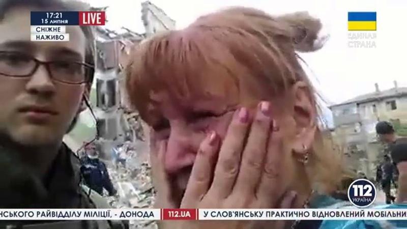 Шокуюча правда в прямому ефірі 112 каналу про події на Донбасі.. новини львівщини.