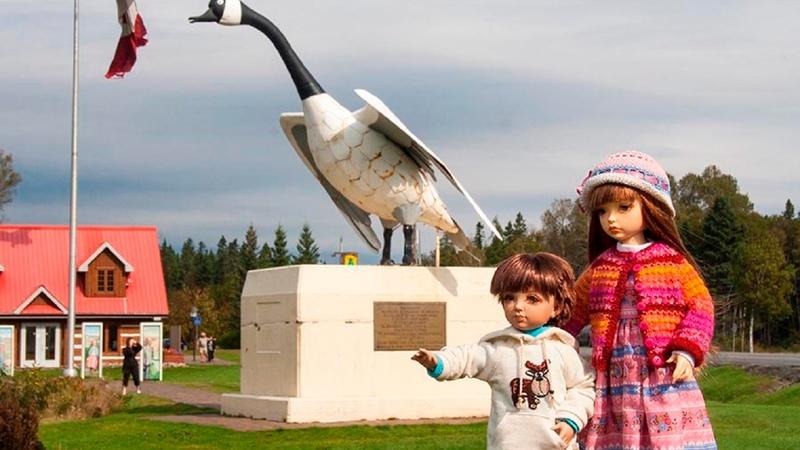 Куклы Марты Боерс канадской мастерицы