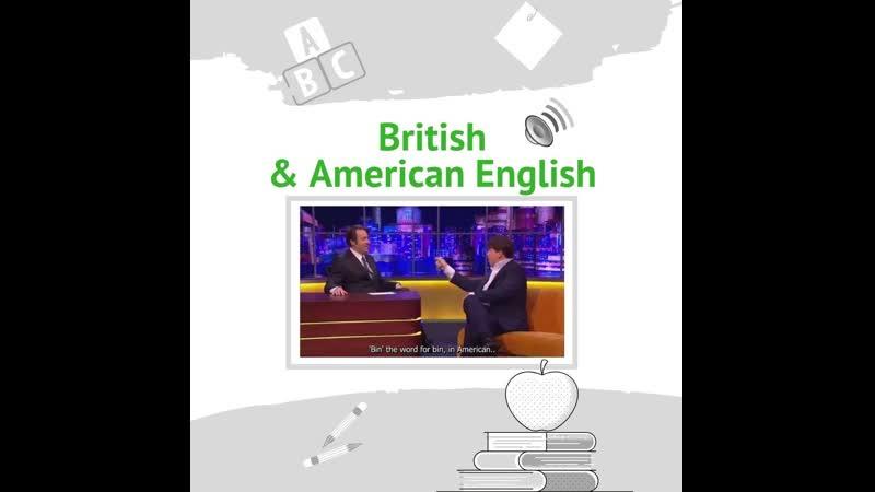 Welcome British American English_