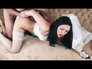 Nevminoze  First Wedding Night Of Hot Latina - Rough And Passionate Sex With Creampie