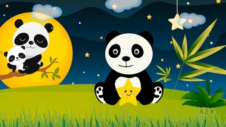 Lullaby for babies. Panda Lullaby.  Music before bedtime. Fast and sound baby sleep  ♫ Sweet dreams!
