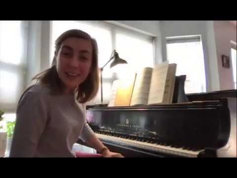 Online Lesson Sample on Czerny Etude Dr Anna Kislitsyna