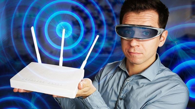 Как увидеть радиоволны Wi Fi