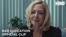 Bad Education: Pam Character Spot (Clip)   HBO