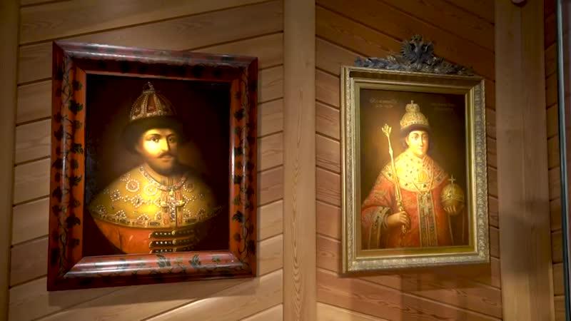 Личные покои царя Алексея Михайловича в Коломенском дворце