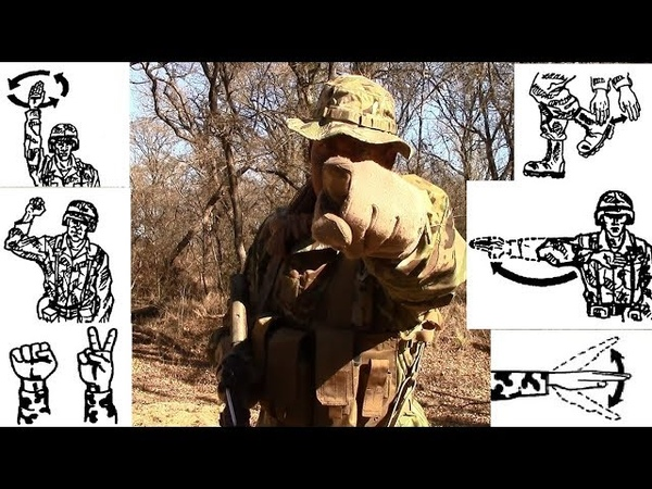 INFANTRYMAN'S GUIDE Basic Hand Arm Signals
