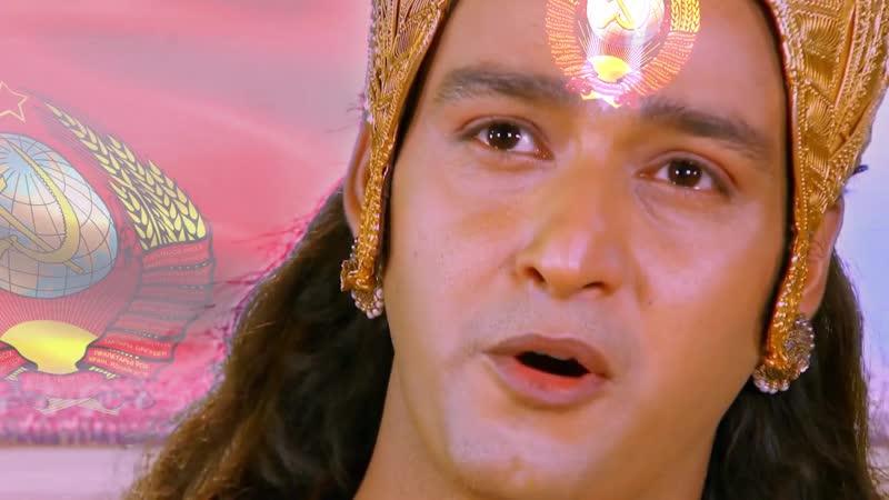 Кришна наставляет Арджуну на классовую борьбу