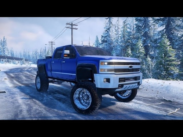 SnowRunner Моды Chevrolet Duramax Roro Оффроуд Тест драйв