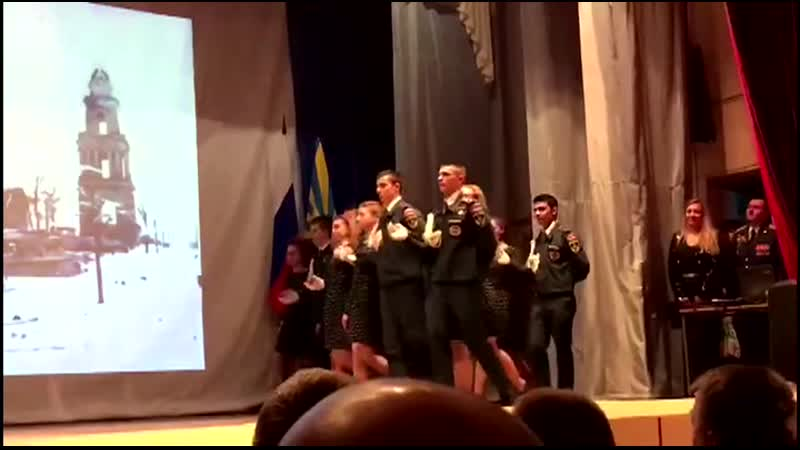 МОУ СОШ № 7 г Ржева10 кадетский класс вальс Правда о Ржевской битве