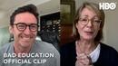 Bad Education: Allison and Hugh's Virtual Conversation (Clip)   HBO