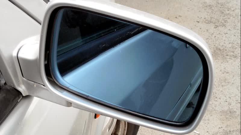 Зеркала антибликовые синего оттенка