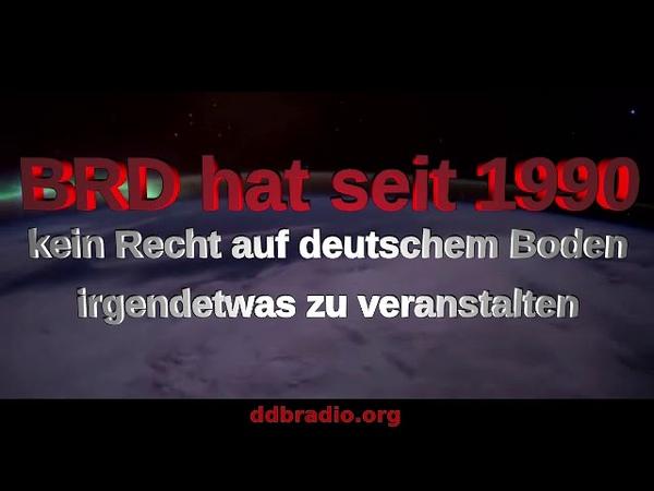 BRD hat seit 1990 kein Recht irgendetwas auf deutschem Boden zu veranstalten