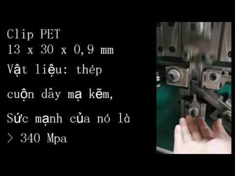 Hai máy kẹp đai PET và kẹp đóng đai PP sẽ sớm được chuyển về Việt Nam