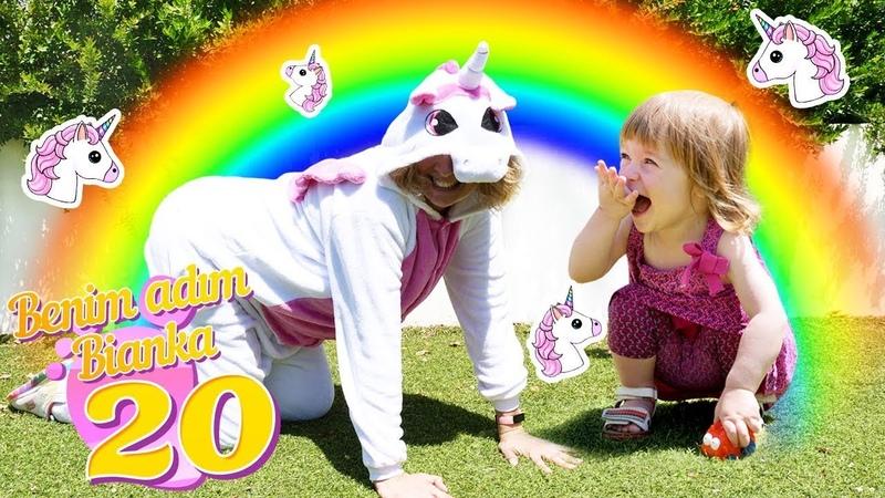 Unicorn Biankaya hediye getiriyor! Benim adım Bianka 20. bölüm. Bebek videosu