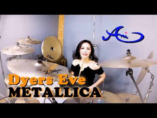 METALLICA - Dyers Eve drum cover by Ami Kim (41)