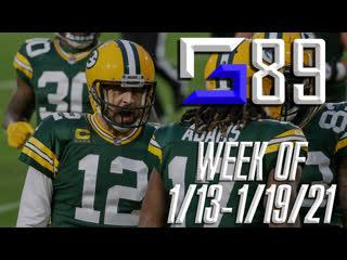 SG 89 (1/13-19/21): NFL Playoffs Round 2; Harden to Nets; NHL Season Starts; Wrestling News