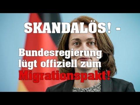 SKANDALÖS! - Bundesregierung lügt offiziell zum Migrationspakt!