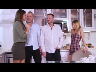 [DDFNetwork] Tina Kay, Rebecca Volpetti - Afternoon DP Orgy NewP