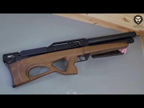 Пневматическая винтовка EDgun Матадор R5M Long 5 5 мм 590 мм дерево буллпап видео обзор 4k