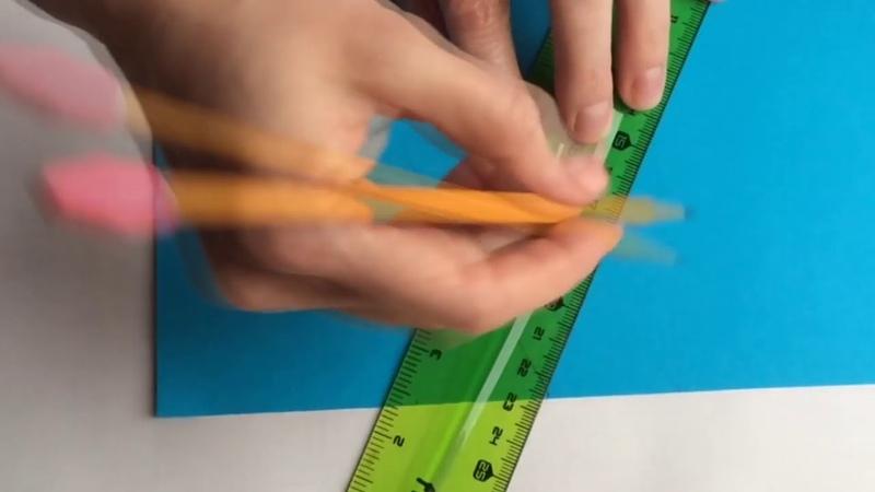 Клуб села Бирюки. Работа в творческой мастерской Умелые ручки. Делаем коробочку- пирамидку.