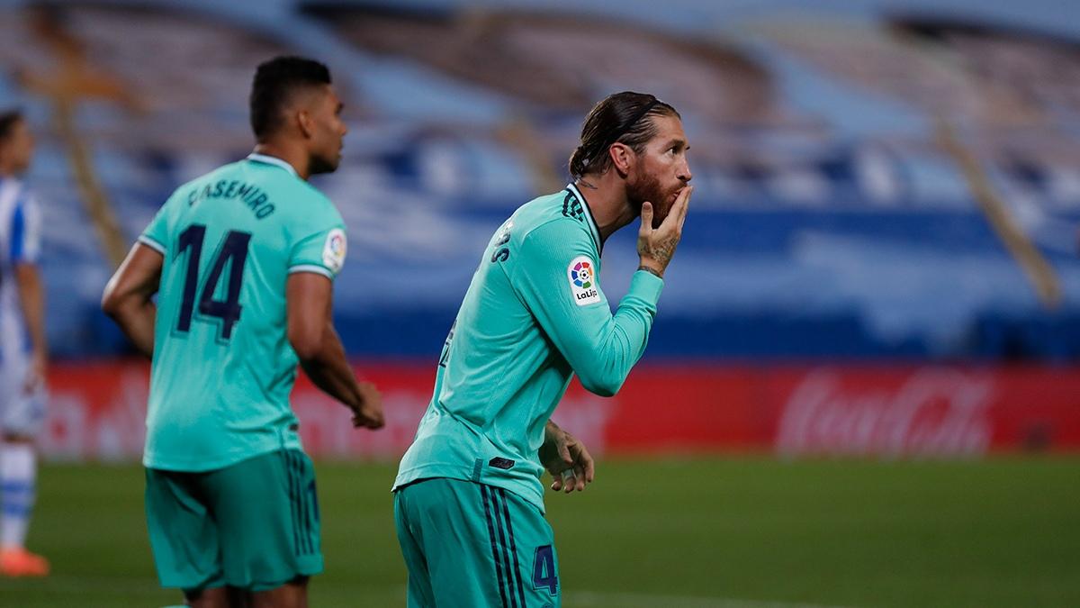 Реал Сосейдад - Реал Мадрид, гол Серхио Рамоса