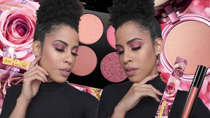 PAT MCGRATHDivine Rose II Collection Highlighter, Quad, and Liquid Lipsticks! | kinkysweat