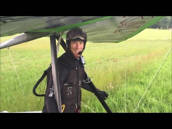 ДЕЛЬТАПЛАН С МОТОРОМ E Help test flight by Zac and Wolfi