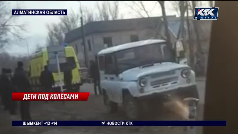 Пьяный водитель сбил четырех школьниц две из них в реанимации