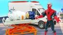 Видео приколы Супергерои - Кто вылечит КЭТБОЯ - Герои в Маске. Новые игры доктор в видео шоу