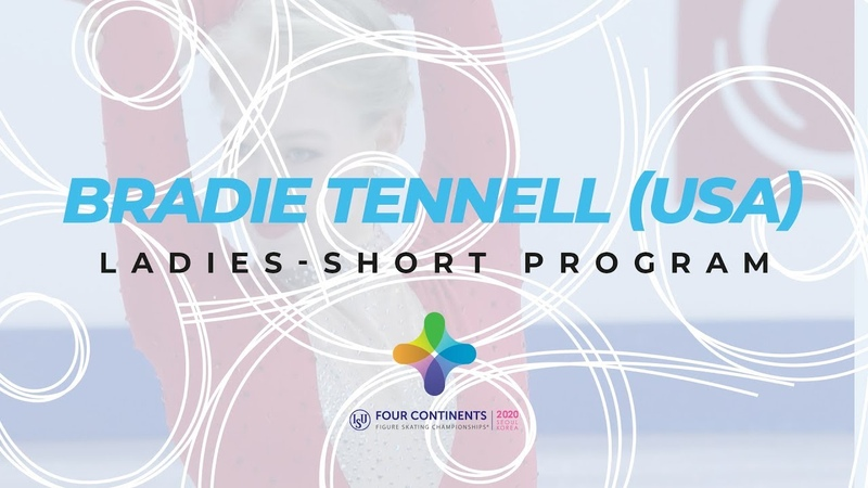 Bradie Tennell USA Ladies Short Program ISU Four Continents Figure Skating 4ContsFigure