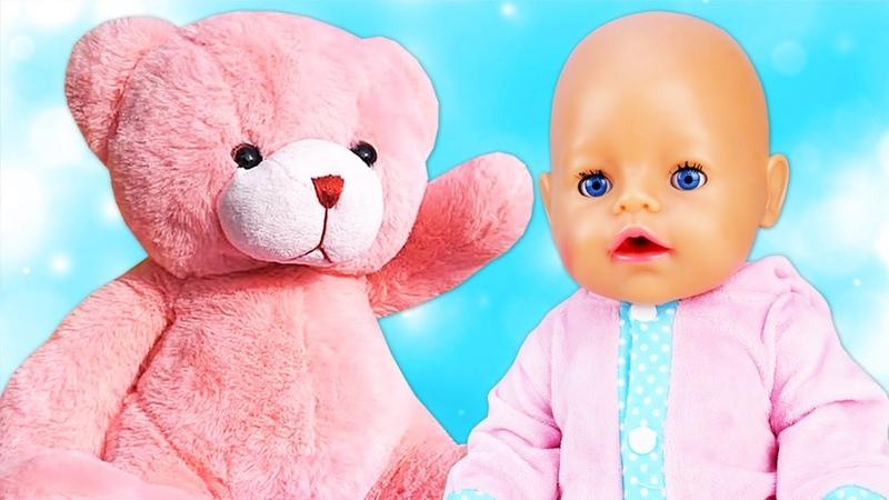 Vamos a cuidar de las muñecas bebés y aprender frutas y verduras Vídeo con juguetes para niñas