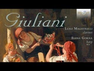 Giovanni Francesco Giuliani: Nocturnes for Clarinet and Harp