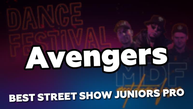 BEST STREET SHOW JUNIORS PRO Avengers