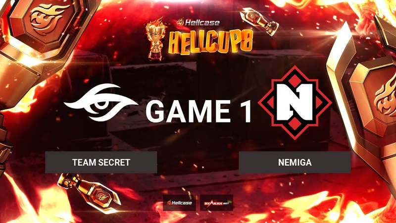 RU Team Secret vs Nemiga Карта 1 Inferno BO3 Hellcase Cup 8 Группа C