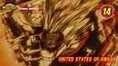 ヒロアカアニメ名シーン:第14弾「UNITED STATES OF SMASH」(『僕のヒーローアカデミ 1245